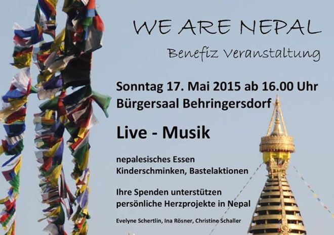 Benefitzkonzert We are Nepal
